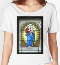 Stained glass  12. Women's Relaxed Fit T-Shirt