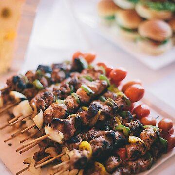 BBQ stick by TanShingYeou