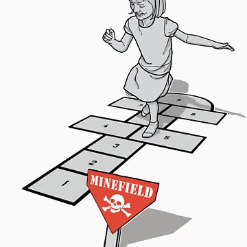 Hopscotch Minefield by rubyred