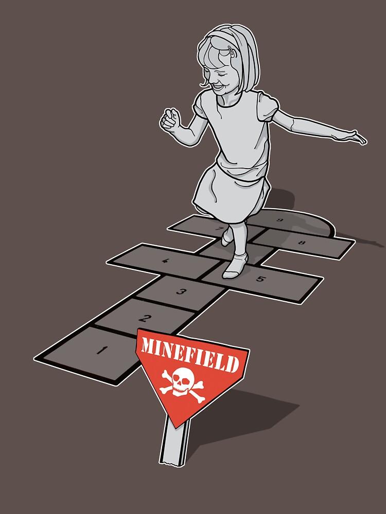 Hopscotch Minefield by rubyred