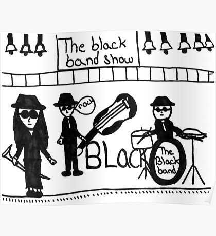 The Black Band Poster