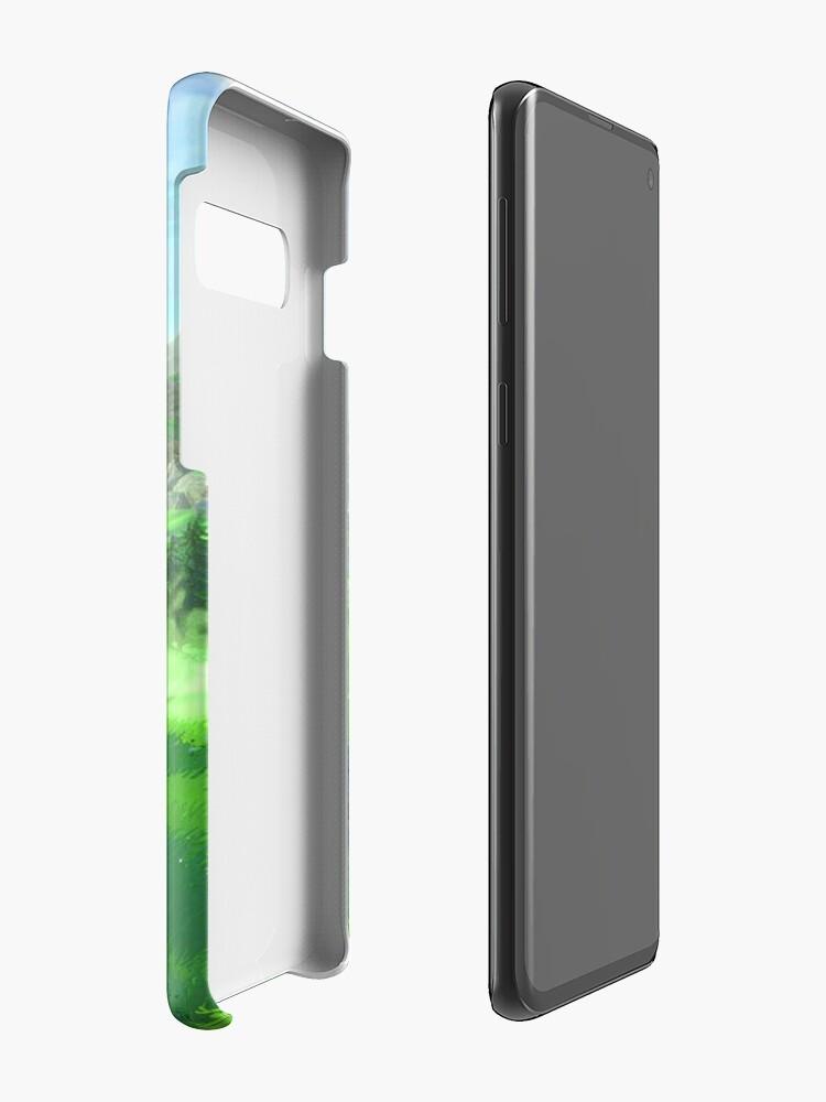 Alternative Ansicht von Atem des Wilden - Feld Hülle & Klebefolie für Samsung Galaxy