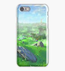Breath Of The Wild - Field iPhone Case/Skin