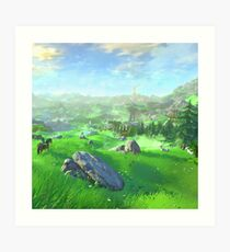 Breath Of The Wild - Field Art Print