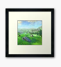 Breath Of The Wild - Field Framed Print
