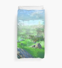 Breath Of The Wild - Field Duvet Cover