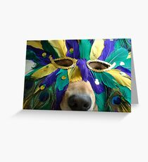 Is It Time For Mardi Gras? Greeting Card