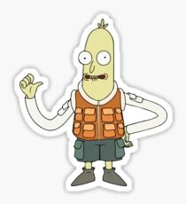 Stealy - Rick and Morty Design Sticker