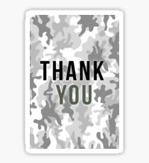 Thank You - Project² ! Sticker