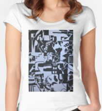 Seperation  Women's Fitted Scoop T-Shirt