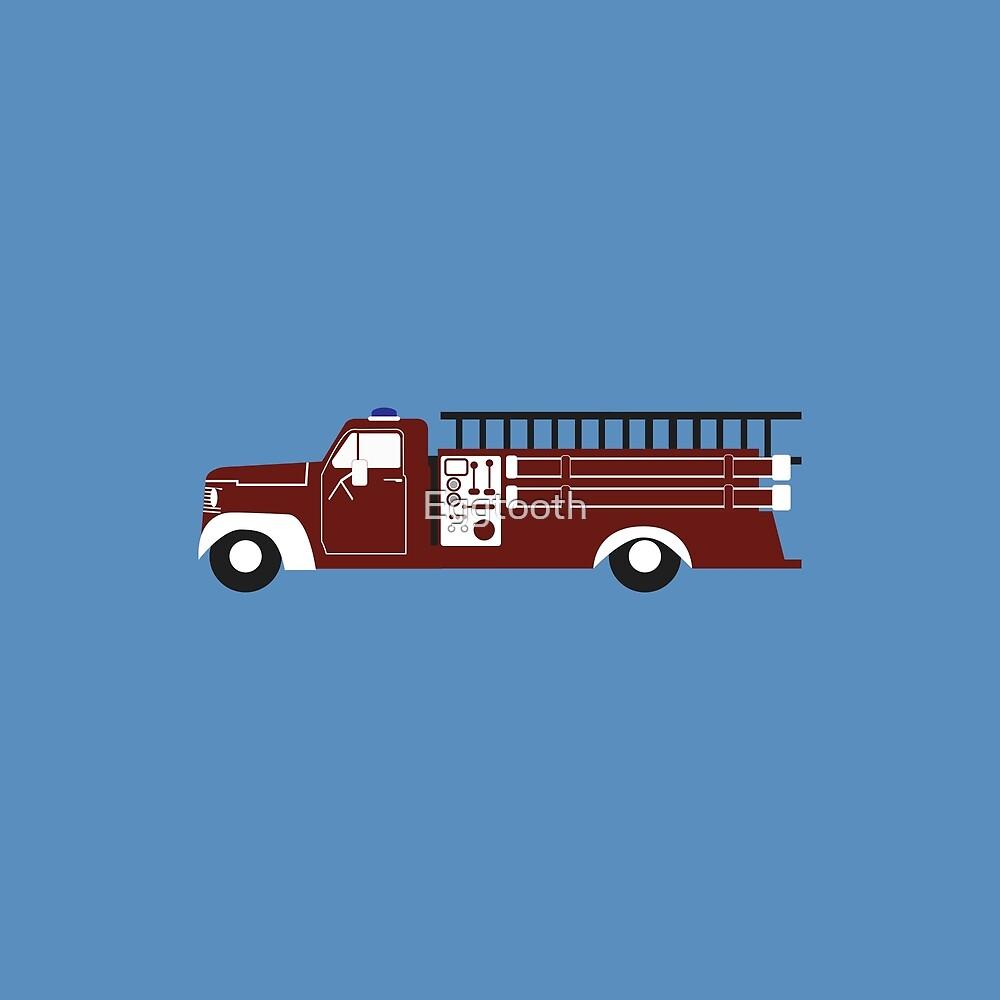 Retro Firetruck by Eggtooth