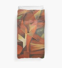 Foxes - Homage to Franz Marc (1913)     Duvet Cover