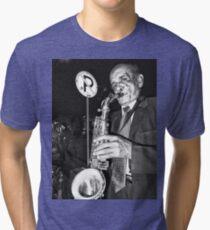 Street Music Man Tri-blend T-Shirt