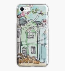 San Francisco Houses #3 iPhone Case/Skin