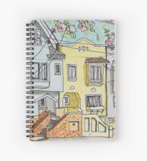 San Francisco Houses #3 Spiral Notebook
