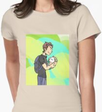 A Trainer and His Rowlet Womens Fitted T-Shirt