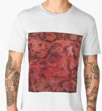 red flowers Men's Premium T-Shirt