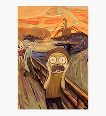 The Scream Photographic Print