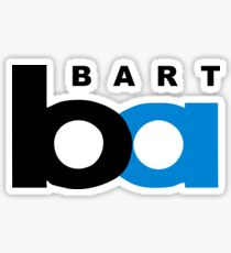 Bay Area Rapid Transit BART Logo Sticker