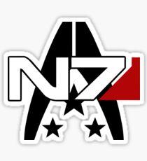 Mass Effect N7 Alliance Sticker Sticker