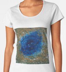 blue green Women's Premium T-Shirt
