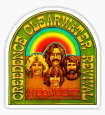 Creedence Clearwater Revival Shirt Sticker