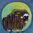 Muskox Moon by Madara Mason