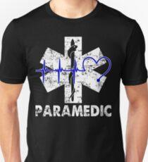 Paramedic Flag Unisex T-Shirt