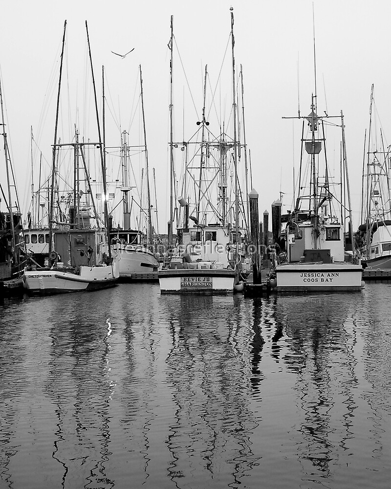Charleston Boats by leannasreflections