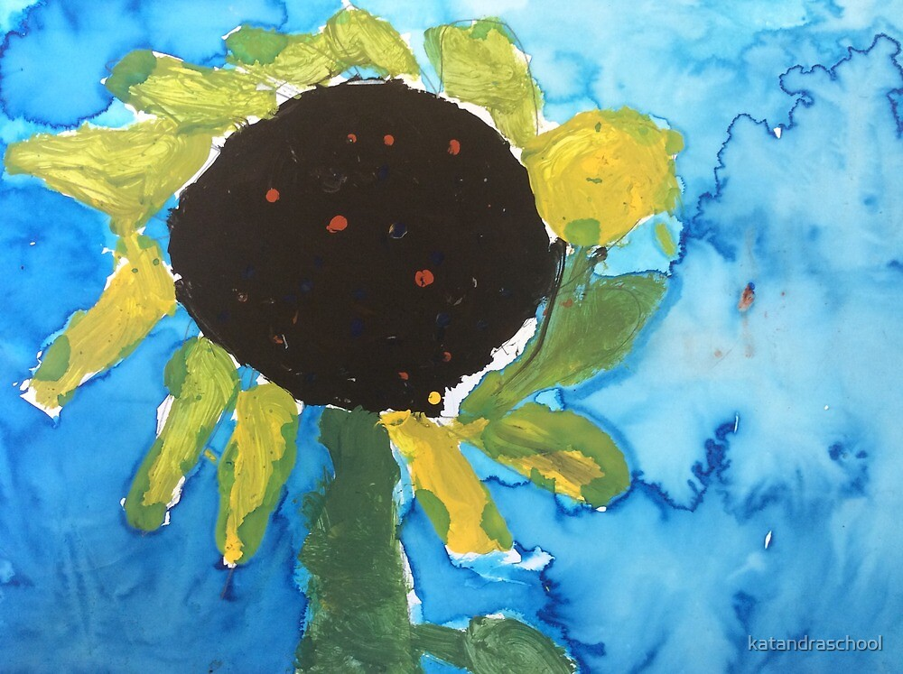 sunflower by katandraschool