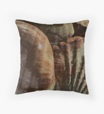 Shellscape Throw Pillow
