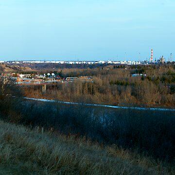 Edmonton's Oil Refinery Row by eadnams