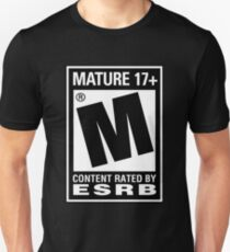 RATED M (MATURE) Unisex T-Shirt