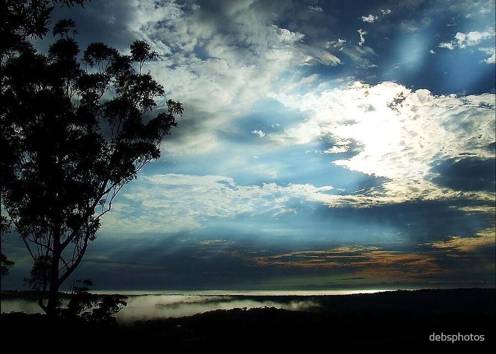 Blue Dawn....... by debsphotos