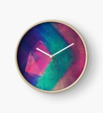 Textured Polygons Clock