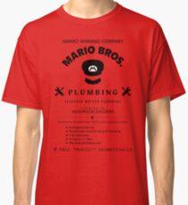 Mario Bros. Plumbing Service Classic T-Shirt