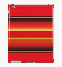 Red Mexican Poncho Background iPad Case/Skin