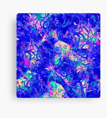 Abstract pattern in impressionism style.  Canvas Print