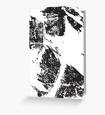 Ink Smudge Greeting Card