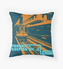 Stay in the Loop Throw Pillow