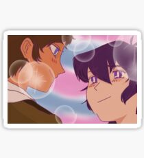 Retro Anime Klance Sticker