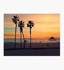 California Postcard Photographic Print