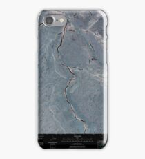 USGS TOPO Map Colorado CO Whitewater 20100928 TM Inverted iPhone Case/Skin