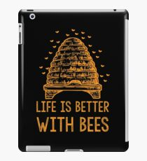 Life Is Better With Bees Shirt iPad Case/Skin