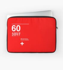 60th Anniversary  Helvetica Typeface Laptop Sleeve
