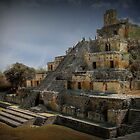 Five Level Temple in Edzna Mexico by Yukondick