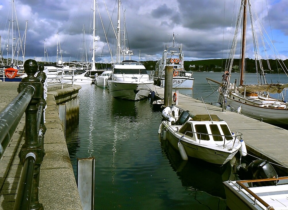 Port Pendennis Marina Falmouth. by mariarty