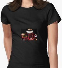 Chocolate Is For Lovers Women's Fitted T-Shirt