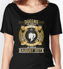 Queens are born in August Women's Relaxed Fit T-Shirt