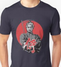 Japanese samurai with sword tshirt etc. Unisex T-Shirt
